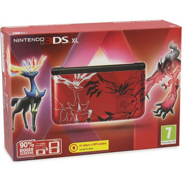 Nintendo 3DS XL (Pokemon Xerneas/Yveltal - Red Edition)