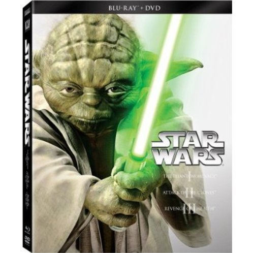 Star Wars Trilogy Episodes I-III [Blu-ray+DVD]