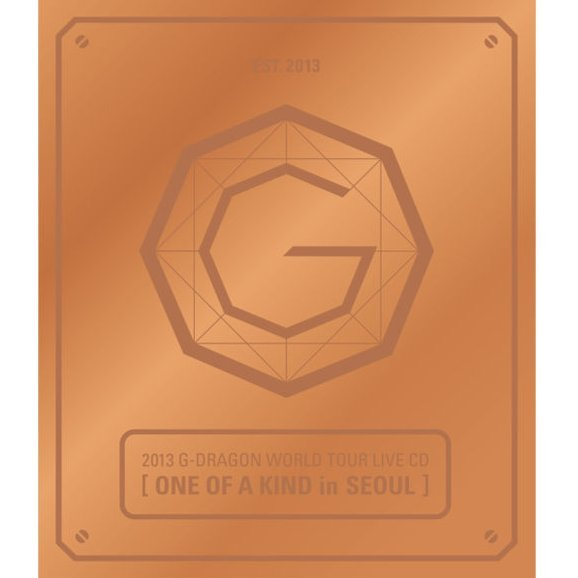 2013 G-Dragon World Tour Live CD: One Of A Kind in Seoul [Bronze Edition]