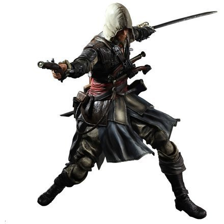 Assassin's Creed IV Black Flag Play Arts Kai Non Scale Pre-Painted Action Figure: Edward