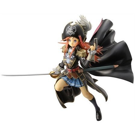Bodacious Space Pirates Pre-Painted PVC Figure: Marika Kato