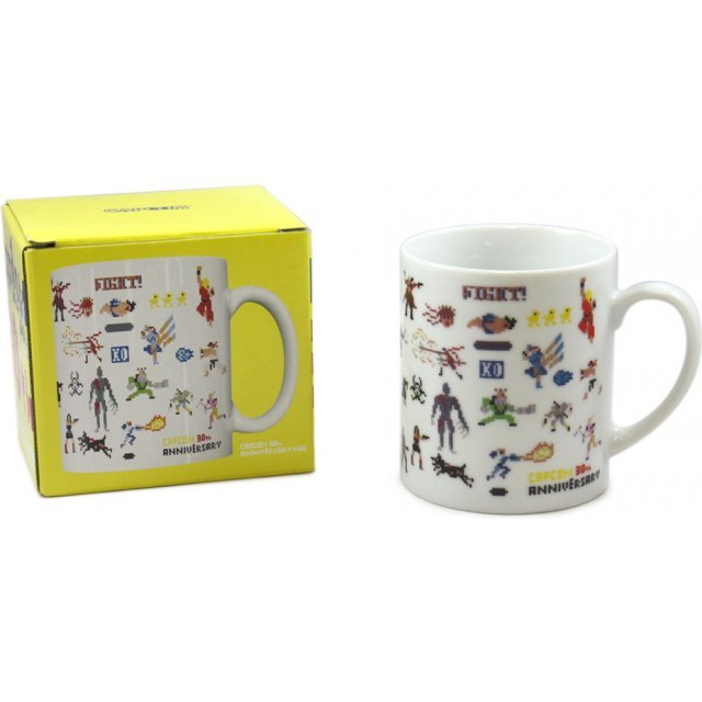 Capcom 30th Anniversary Mug Cup (90's)