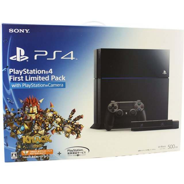 PlayStation 4 System [First Limited Pack with PlayStation Camera]
