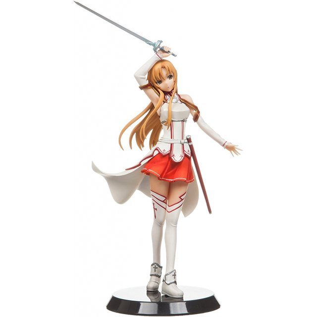Sword Art Online 1/8 Scale Pre-Painted PVC Figure: Asuna KoB Style