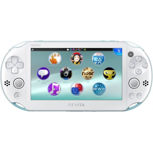 PS Vita PlayStation Vita New Slim Model - PCH-2006 (Light Blue White)