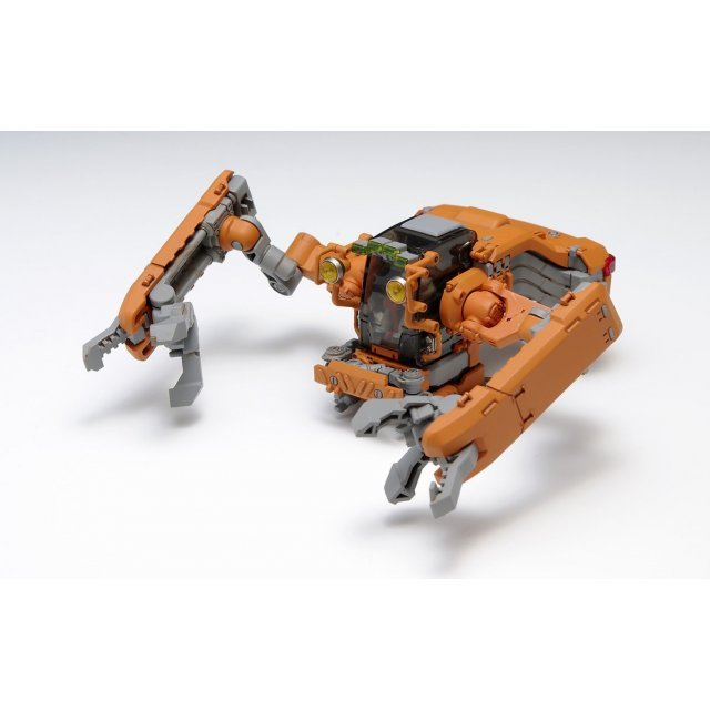 Space Pod Crab 03 - General-Purpose Repairer for Construction (Orange & Clear Orange Forming 2 Kit Set)