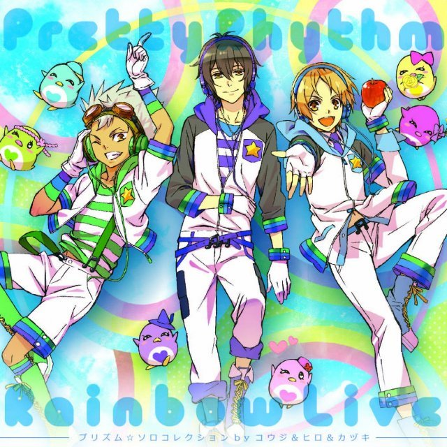 Pretty Rhythm Rainbow Live Prizm Solo Collection Vol.3