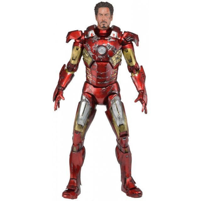 The Avengers 1/4 Scale Action Figure: Iron Man Battle Damage Ver.