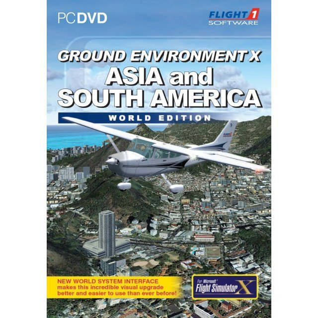 Ground Environment X Asia and South America (DVD-ROM)