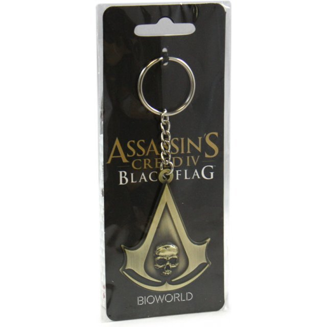 Ubisoft Assassin's Creed IV: Black Flag - Shiny Metal Crest Keychain