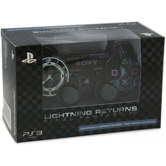 DualShock 3 Lightning Returns: Final Fantasy XIII Edition (Black)