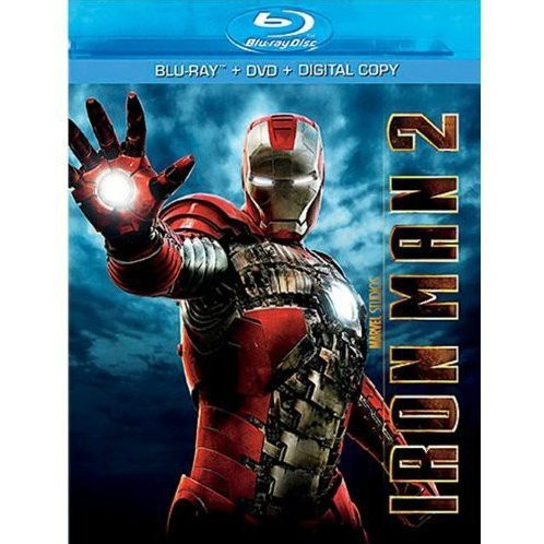 Iron Man 2 [Blu-ray+DVD]