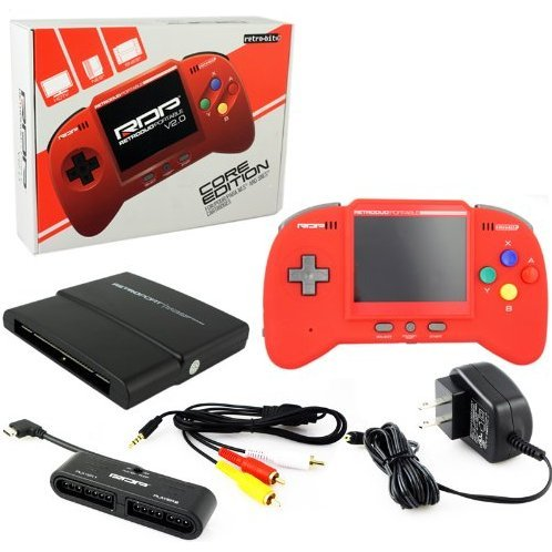 RetroDuo Portable System v2.0 Core Edition (Red)