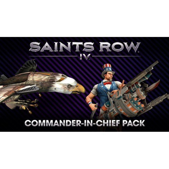 Saints Row IV - Commander-In-Chief Pack (Steam)