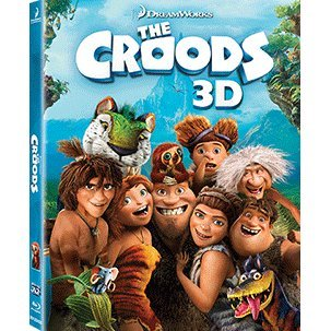 The Croods 3D [3D+2D 2Blu-ray]