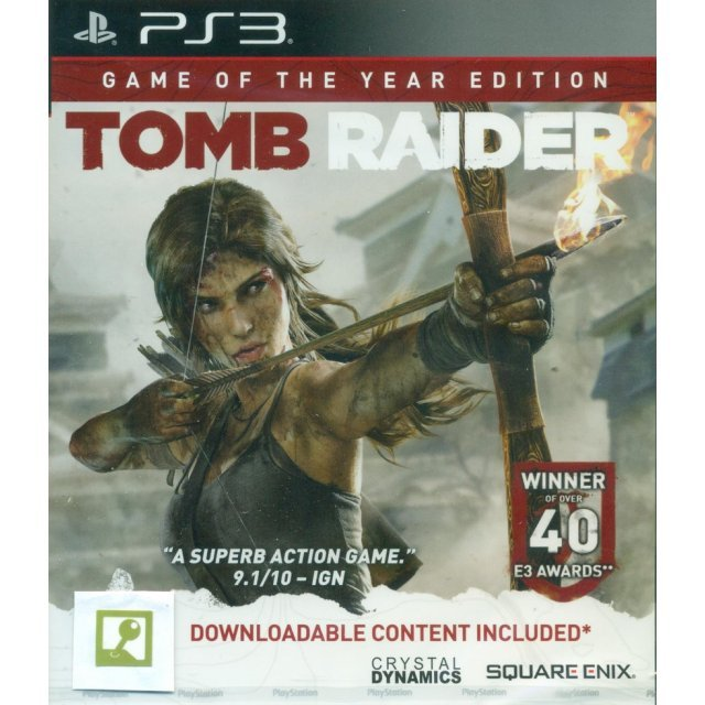 Tomb Raider: Game of the Year Edition (Chinese + English Version)