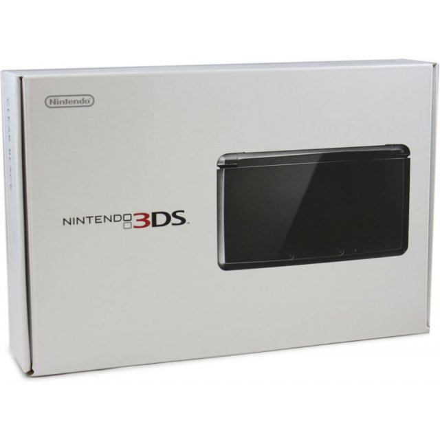 Nintendo 3DS (Clear Black)