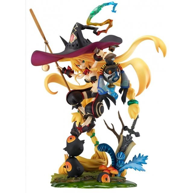 Witch and Hundred Cavalry 1/8 Scale Pre-Painted PVC Figure: Swamp Witch Metallica