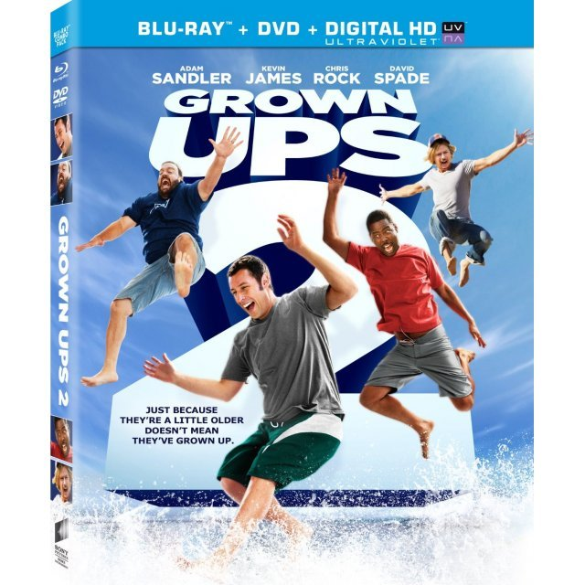 Grown Ups 2 [Blu-ray+DVD+UltraViolet]