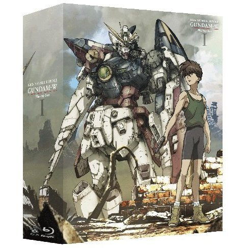 Mobile Suit Gundam Wing Blu-ray Box 1 [Blu-ray+CD Limited Pressing]