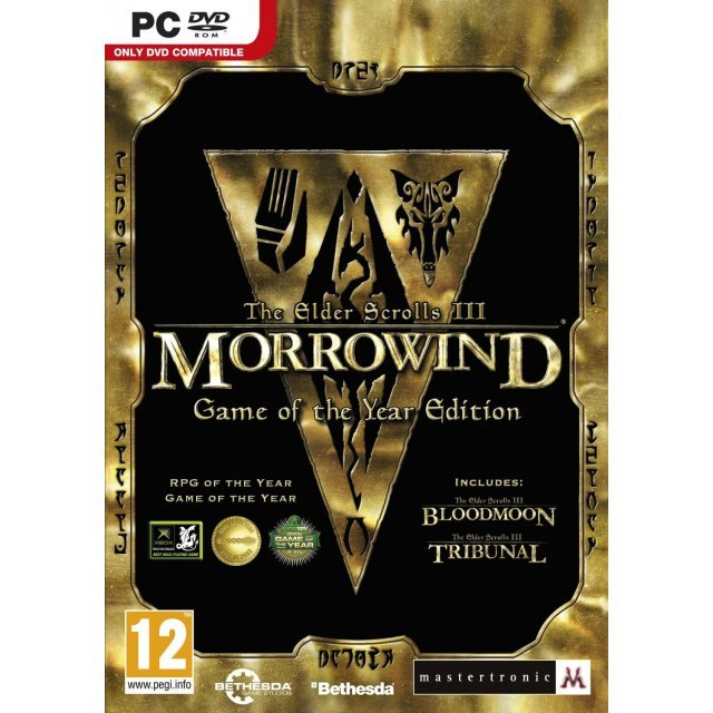 The Elder Scrolls III: Morrowind - Game of the Year (DVD-ROM)