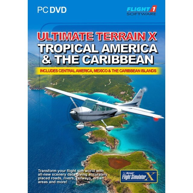 Ultimate Terrain X: Tropical America & The Caribbean (DVD-ROM)