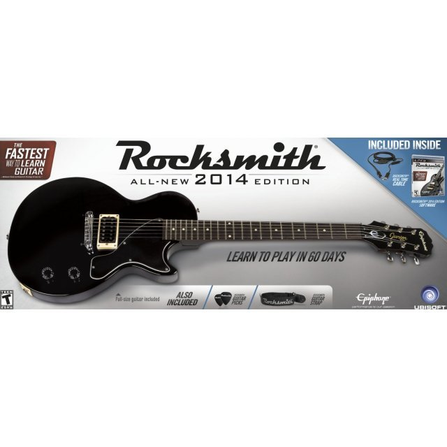 rocksmith 2014 edition guitar bundle. Black Bedroom Furniture Sets. Home Design Ideas