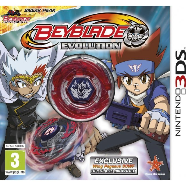 Beyblade: Evolution (Collector's Edition w/ Wing Pegasus)