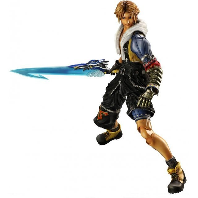Final Fantasy X HD Remaster Play Arts Kai Non Scale Pre-Painted Action Figure: Tidus