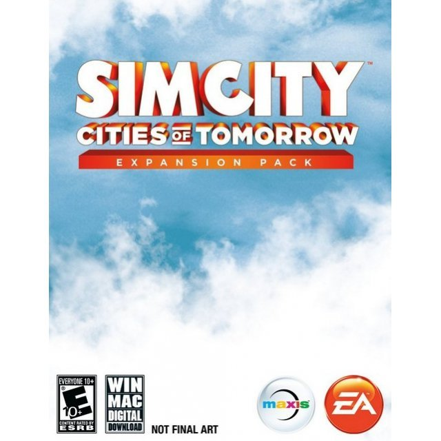SimCity: Cities of Tomorrow Expansion Pack (Limited Edition) (DVD-ROM)