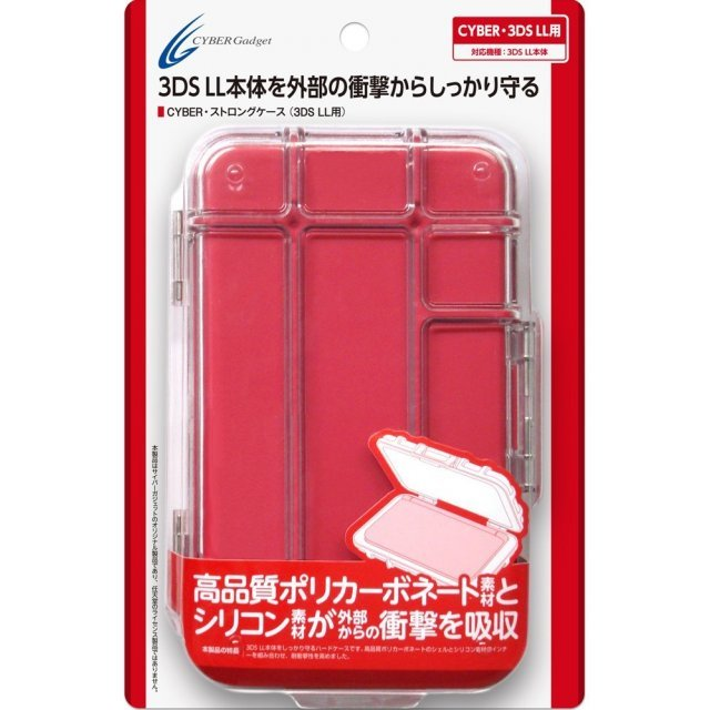 Strong Case for 3DS LL (Red)