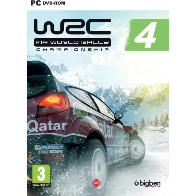 WRC: FIA World Rally Championship 4 (DVD-ROM)