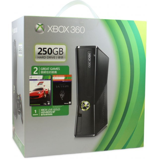 Xbox 360 250GB Slim Premium Bundle (Forza Motorsport 4)
