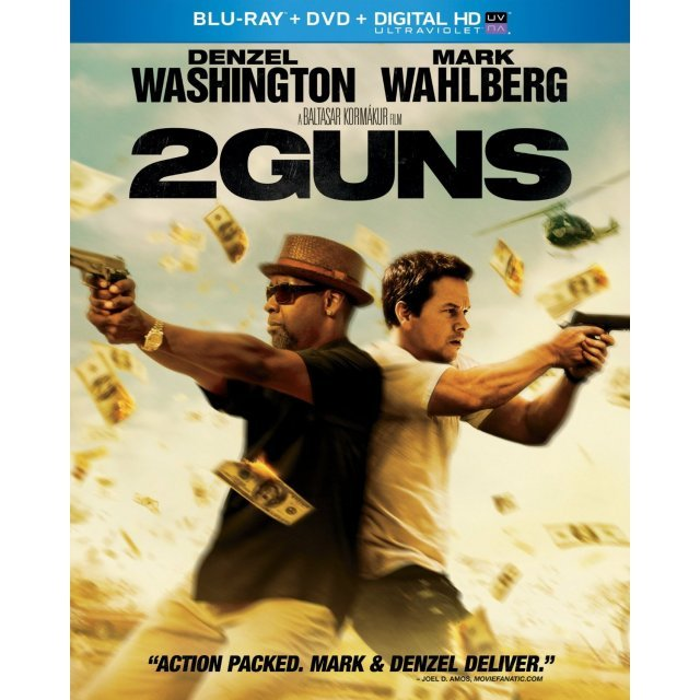 2 Guns [Blu-ray+DVD+Digital Copy+UltraViolet]