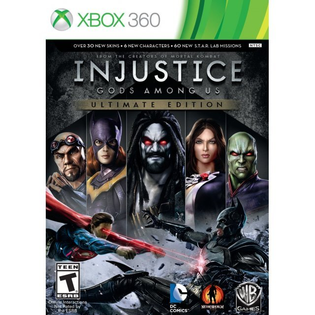 injustice gods among us ultimate edition. Black Bedroom Furniture Sets. Home Design Ideas