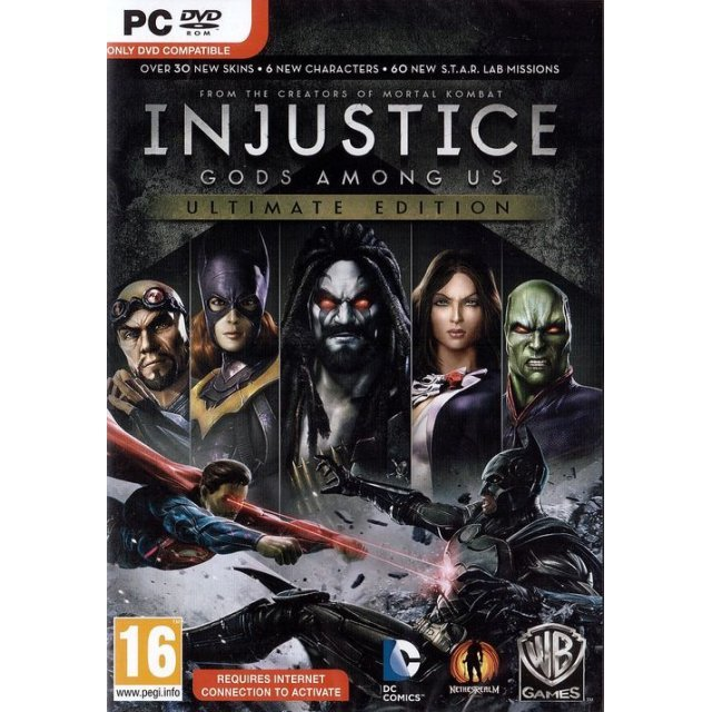 Injustice: Gods Among Us - Ultimate Edition (DVD-ROM)
