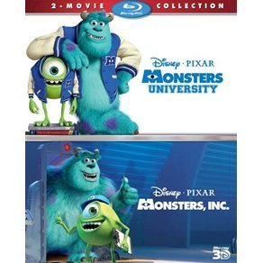 Monsters University + Monsters [3D+2D Two Movie Collection]