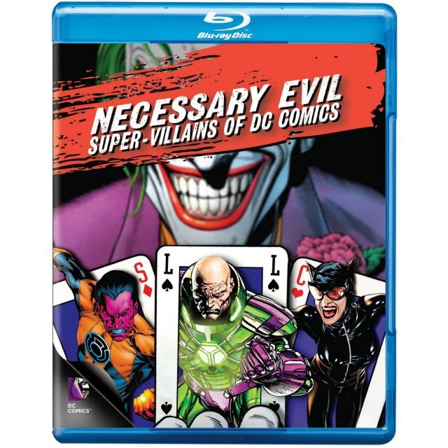 Necessary Evil: Super-Villains of DC Comics [Blu-ray+UltraViolet]