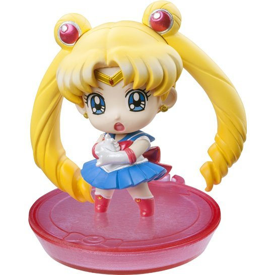 Petit Chara Series Sailor Moon Non Scale Pre-Painted PVC Trading Figure: Puchi To Oshiokiyo (Random Single) (Japanese Version)