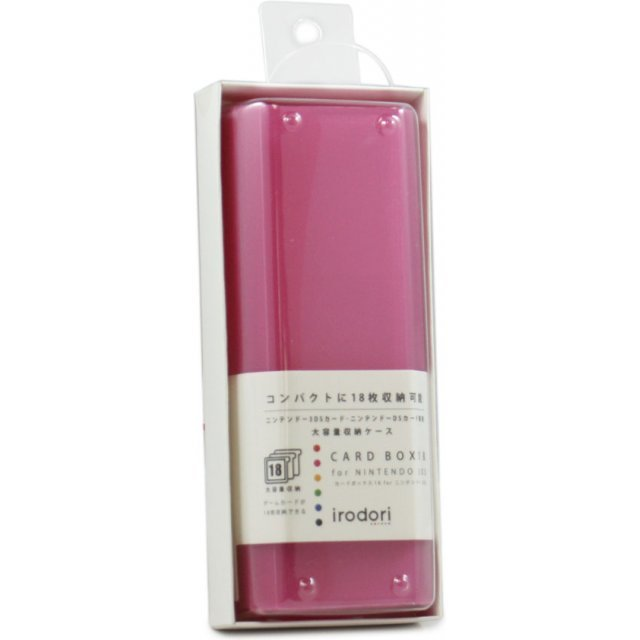 Card Box 18 for 3DS (Pink)