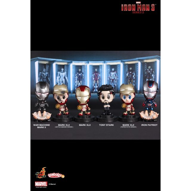 Cosbaby Iron Man 3 Series 2 (Set of 6)