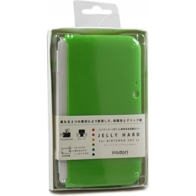 Jelly Hard Cover for 3DS LL (Green)
