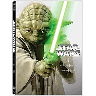 Star Wars Prequel Trilogy [3DVD]