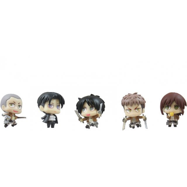 Attack on Titan Chimi Chara Mascot Part 2 (Set of 5 pieces)