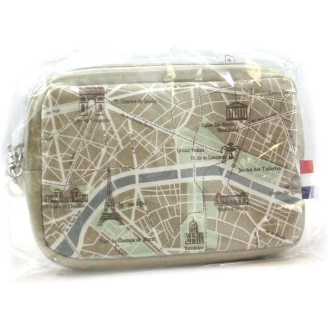 Design Pouch for 3DS LL (Map)