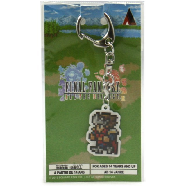 Square Enix Final Fantasy All the Bravest Metal Key Chain: Knight