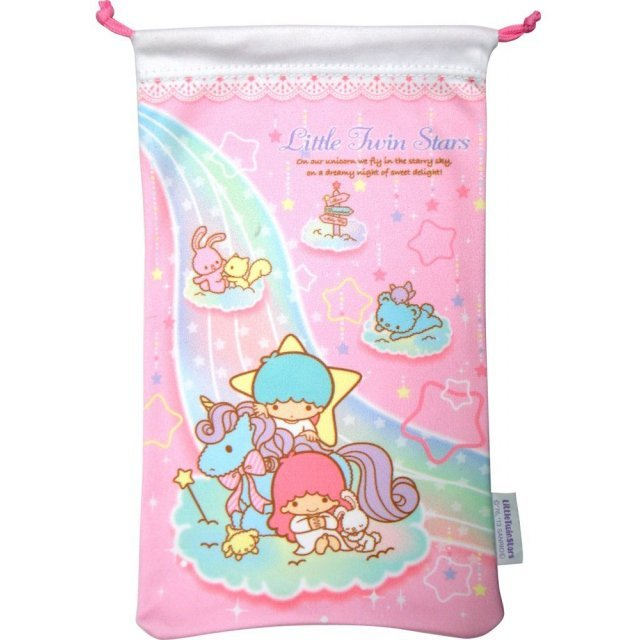 Little Twin Stars Pouch for 3DS LL (Pink)
