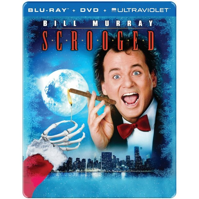 Scrooged [25th Aniniversary Edition SteelBook]