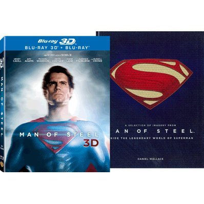 Man of Steel [3D+2D+Coffee Table Book Limited Edition]