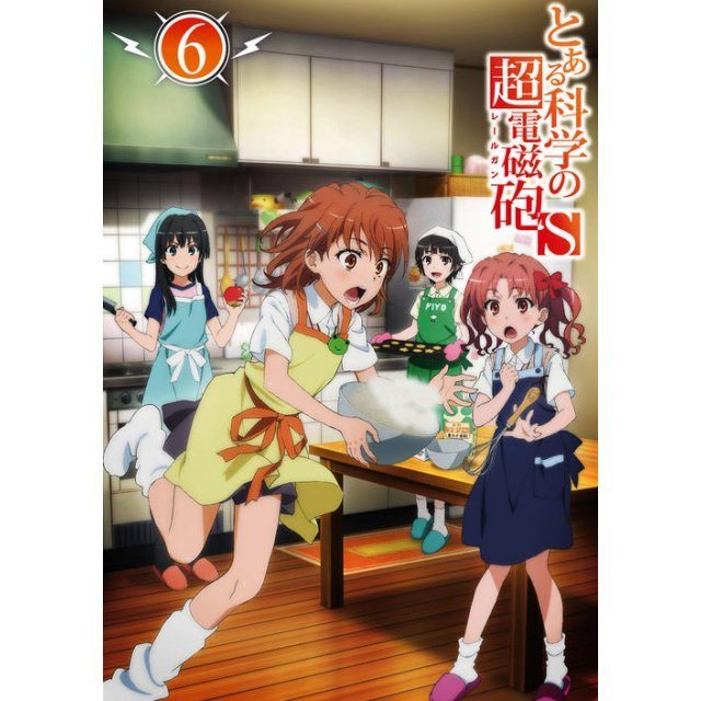 To Aru Kagaku No Railgun S Vol.6 [Limited Edition]